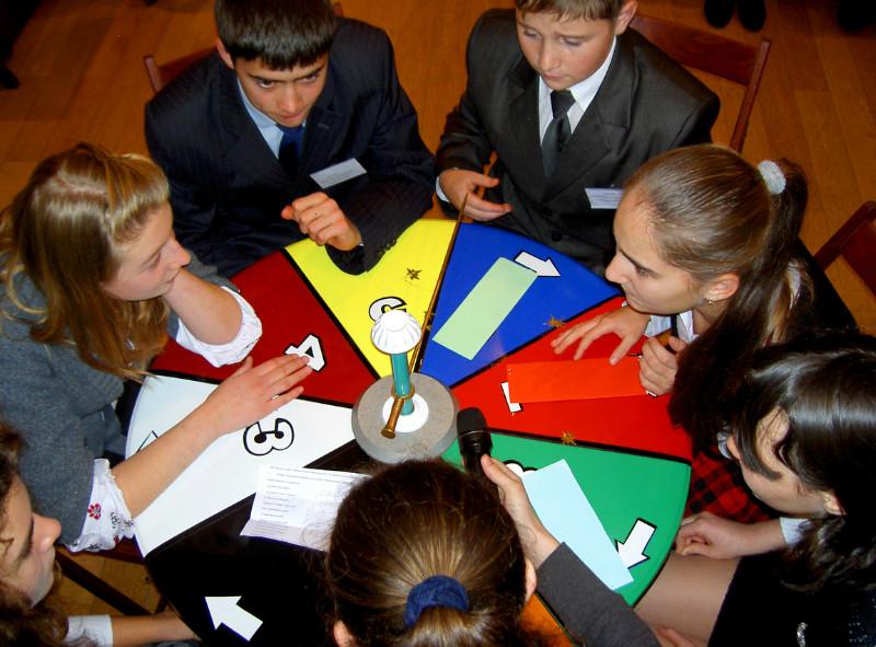 Конкурс интеллектуальных игр для школьников